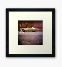 serendipity - Holga double exposure Framed Print