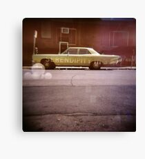 serendipity - Holga double exposure Canvas Print