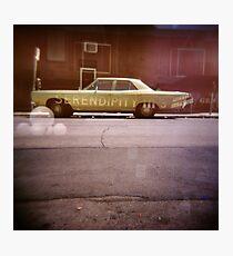 serendipity - Holga double exposure Photographic Print