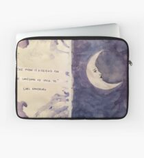 Purple Moon Laptop Sleeve