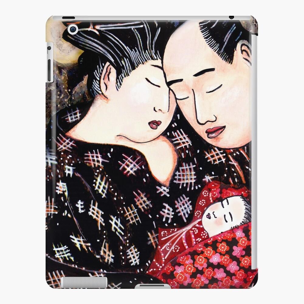 The Hokusai Family Has An Early Night iPad Case & Skin