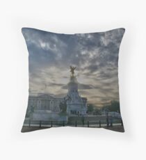 Queen Victoria - London Throw Pillow