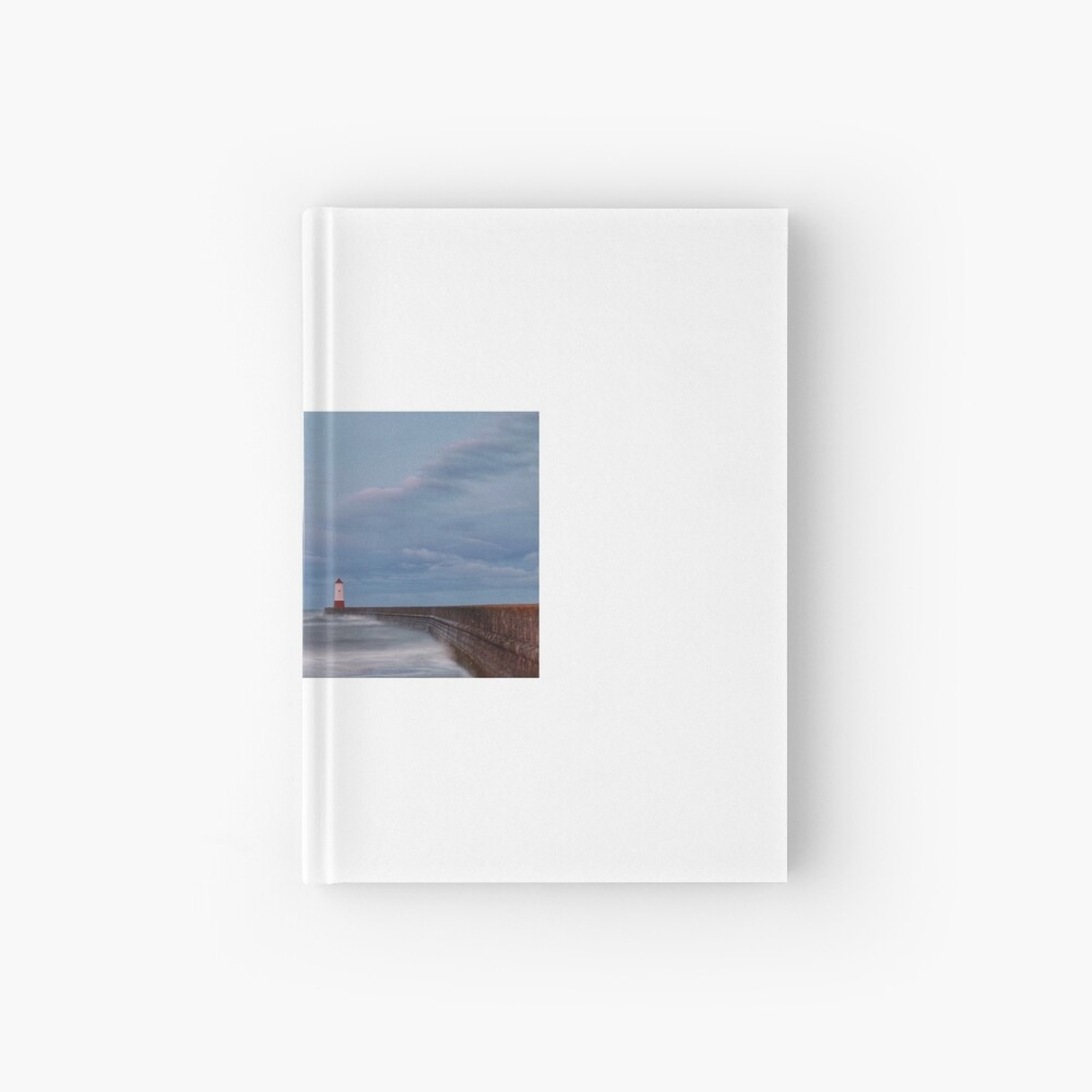Berwick Upon Tweed Lighthouse Hardcover Journal