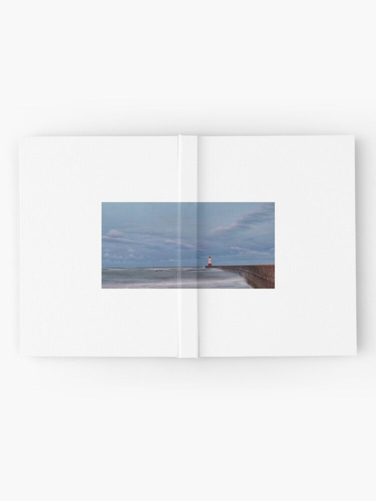 Alternate view of Berwick Upon Tweed Lighthouse Hardcover Journal