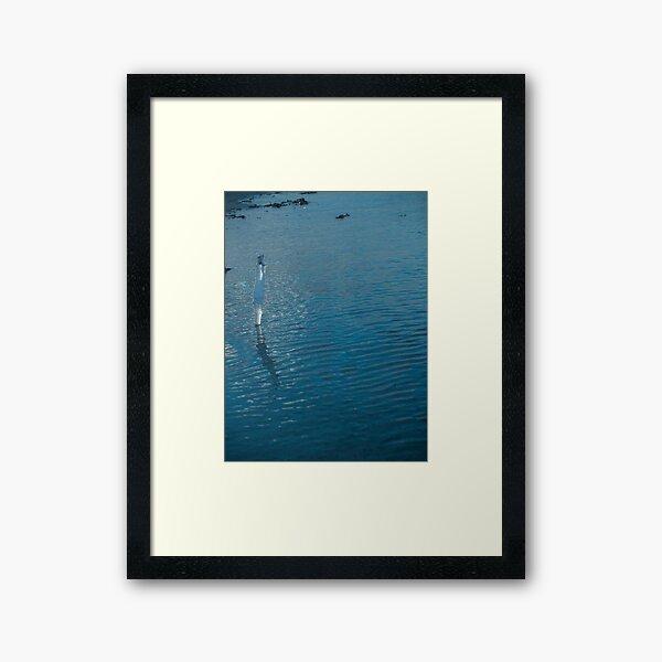 Sea Ice Framed Art Print