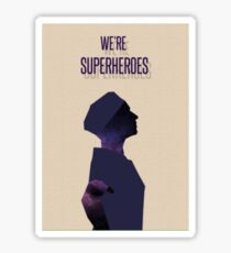 Superheroes Sticker