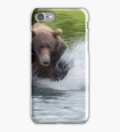 Look Out, Salmon! iPhone Case/Skin