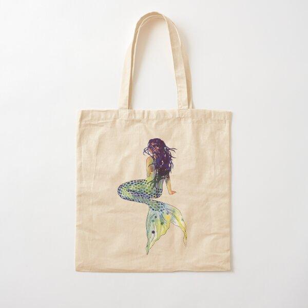 Mermaid Cotton Tote Bag