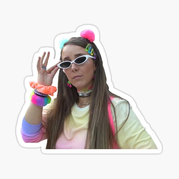I'm going to write about it in my burn book - Jenna Marbles Sticker
