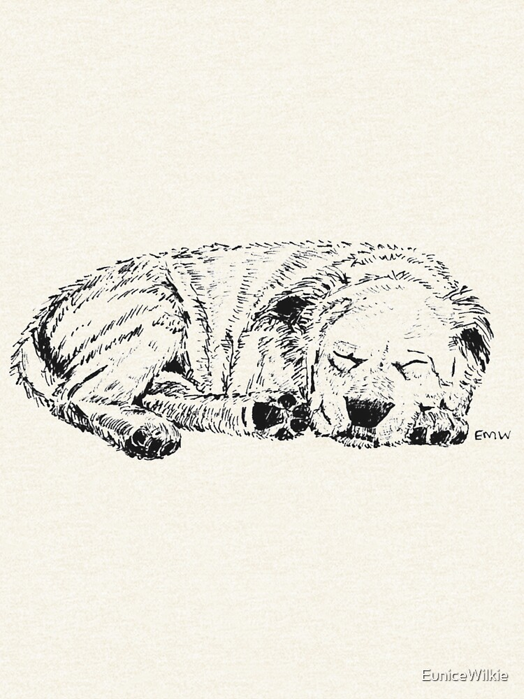 Let Sleeping Dogs Lie - Scarf and Clothing by EuniceWilkie