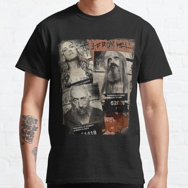 3 From Hell - Rob Zombie Classic T-Shirt