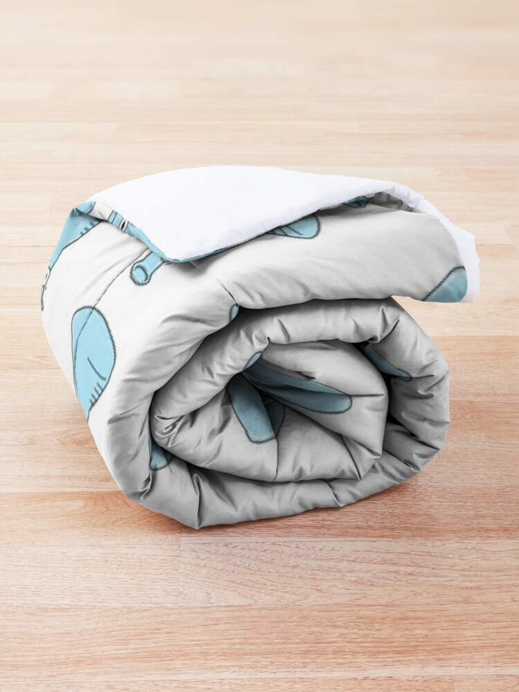 Alternate view of Cute Chemistry Comforter