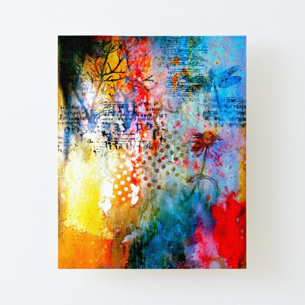 A Winter Journal... Canvas Mounted Print