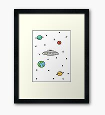 Space; The Final Frontier  Framed Print