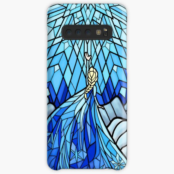 Frozen Fractals in the Stained Glass Window Samsung Galaxy Snap Case