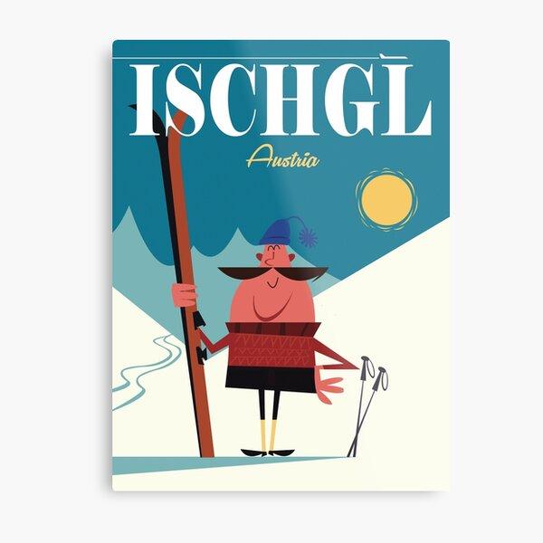 Ischgl poster Metal Print