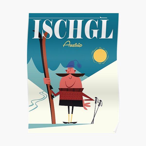 Ischgl-Plakat Poster