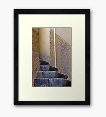 Simply Stone Framed Print