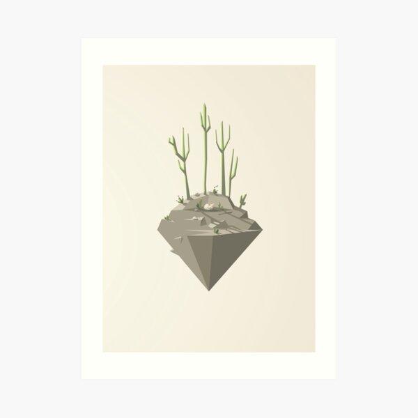Piece of desert Art Print