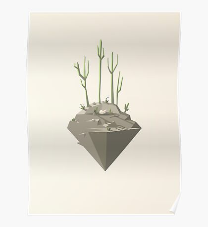Piece of desert Poster