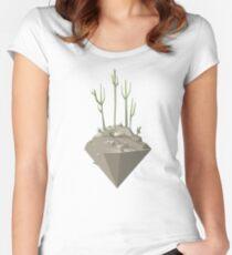Piece of desert Women's Fitted Scoop T-Shirt