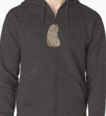 Dignified Walrus Zipped Hoodie