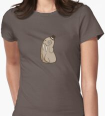 Dignified Walrus Women's Fitted T-Shirt