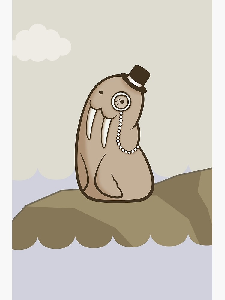 Dignified Walrus by Cheeseness
