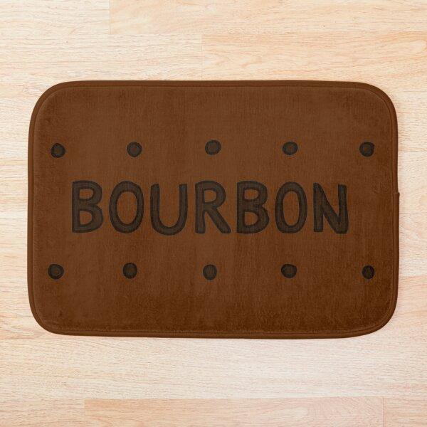 Chocolate Bourbon Biscuit Bath Mat