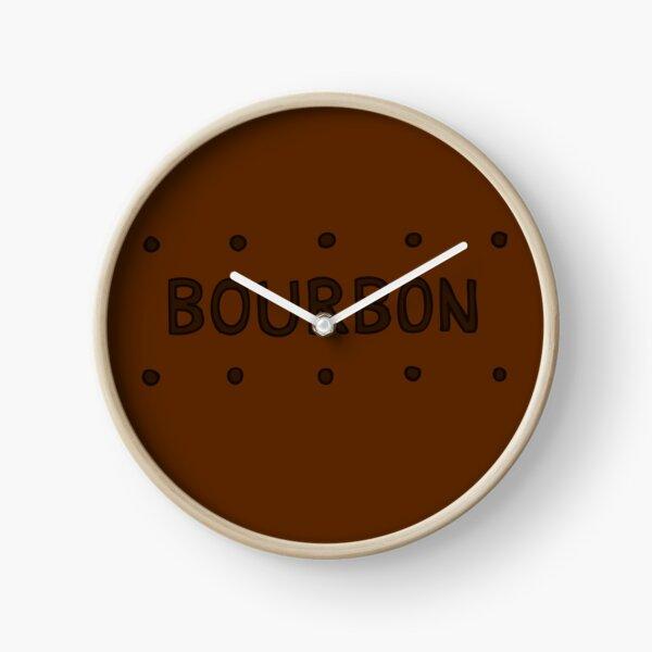 Chocolate Bourbon Biscuit Clock
