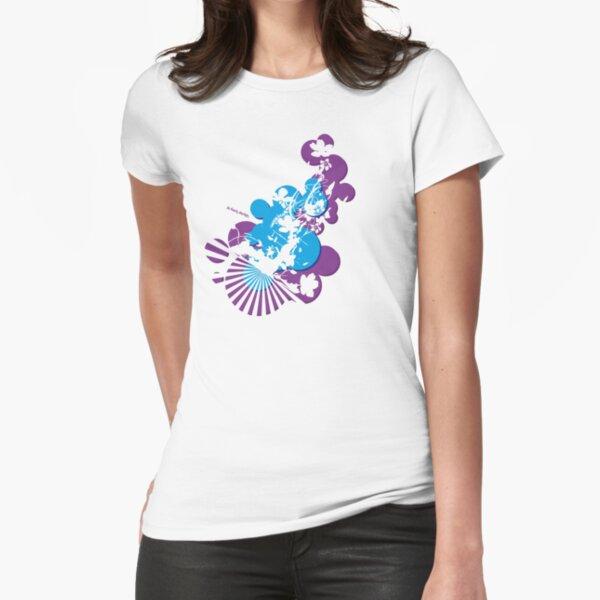 SoFresh Design - Flower Power Fitted T-Shirt