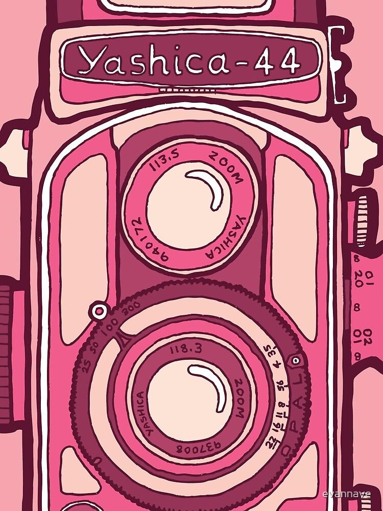 Vintage camera pink by evannave