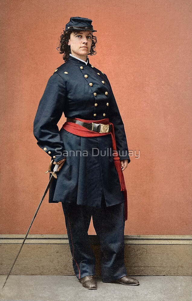 Pauline Cushman, a spy for the Union in the Civil War by Sanna Dullaway