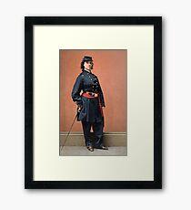 Pauline Cushman, a spy for the Union in the Civil War Framed Print