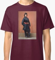 Pauline Cushman, a spy for the Union in the Civil War Classic T-Shirt