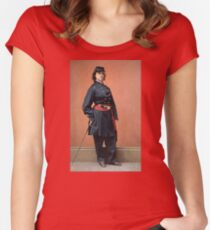 Pauline Cushman, a spy for the Union in the Civil War Fitted Scoop T-Shirt