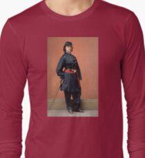 Pauline Cushman, a spy for the Union in the Civil War Long Sleeve T-Shirt
