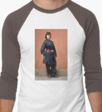 Pauline Cushman, a spy for the Union in the Civil War Baseball ¾ Sleeve T-Shirt