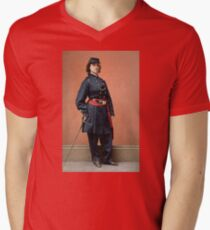 Pauline Cushman, a spy for the Union in the Civil War V-Neck T-Shirt