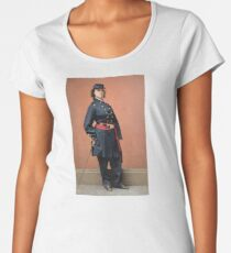 Pauline Cushman, a spy for the Union in the Civil War Premium Scoop T-Shirt