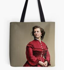 Pauline Cushman, actress and a spy for the Union in the Civil War. Made brevet Major by President Lincoln for her efforts in the war. 1865.  Tote Bag