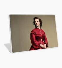 Pauline Cushman, actress and a spy for the Union in the Civil War. Made brevet Major by President Lincoln for her efforts in the war. 1865.  Laptop Skin