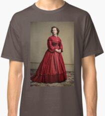 Pauline Cushman, actress and a spy for the Union in the Civil War. Made brevet Major by President Lincoln for her efforts in the war. 1865.  Classic T-Shirt