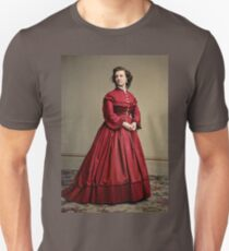 Pauline Cushman, actress and a spy for the Union in the Civil War. Made brevet Major by President Lincoln for her efforts in the war. 1865.  Slim Fit T-Shirt