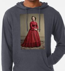 Pauline Cushman, actress and a spy for the Union in the Civil War. Made brevet Major by President Lincoln for her efforts in the war. 1865.  Lightweight Hoodie