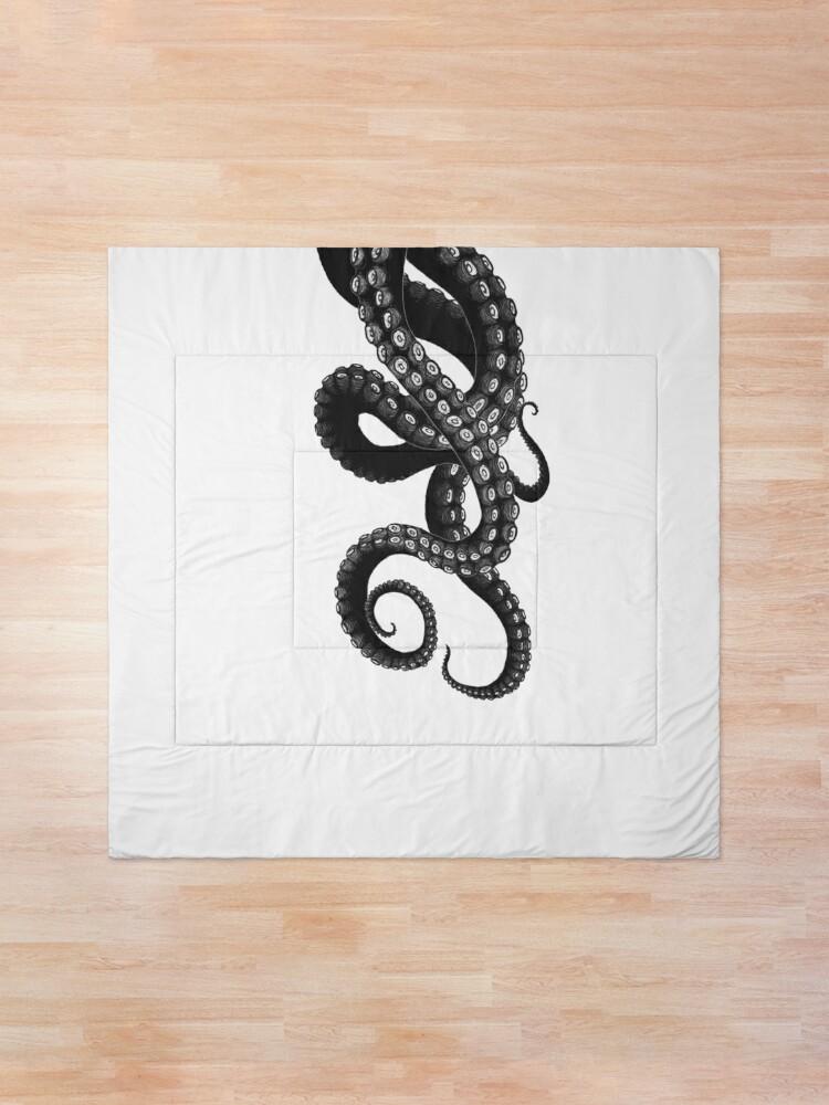 Alternate view of Get Kraken Comforter