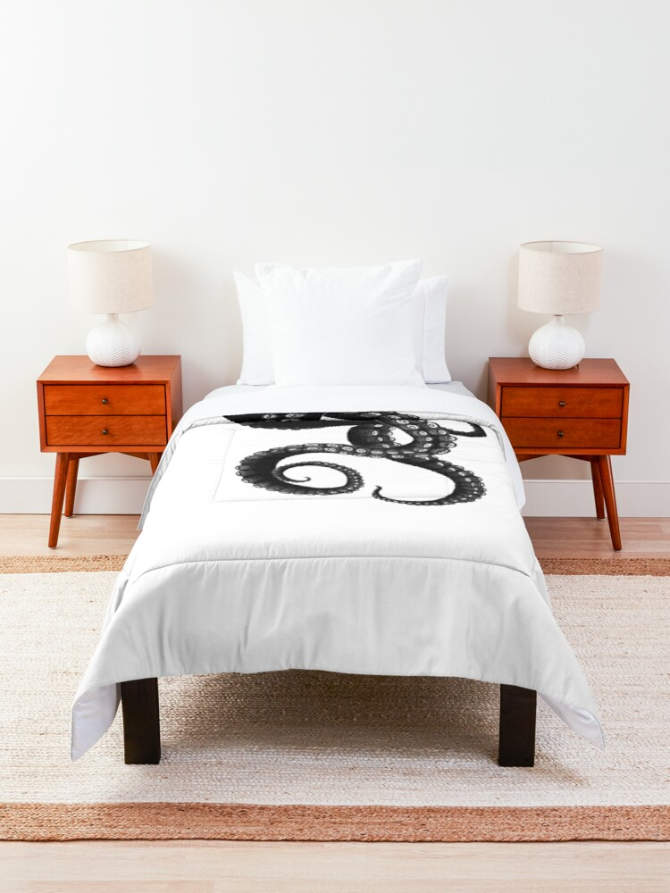 Alternate view of Get Kraken Comforter