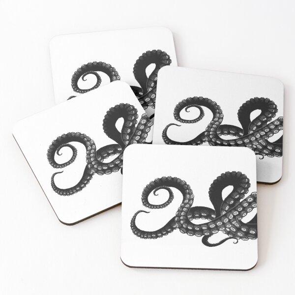 Get Kraken Coasters (Set of 4)