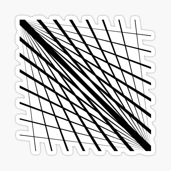 #Pattern is a #regularity in the #world, in human-made #design, or in abstract ideas Sticker
