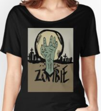 Zombie moon Women's Relaxed Fit T-Shirt